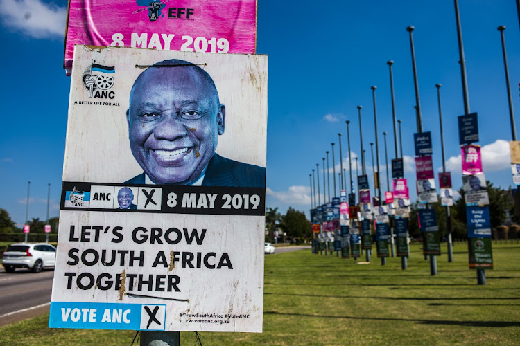 Image result for political party posters south africa
