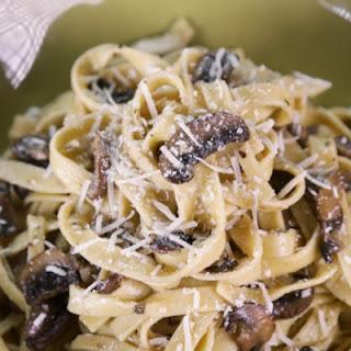 Mushroom Fettuccini Alfredo