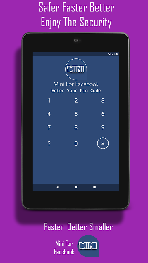 Mini For Facebook - Mini FB- screenshot