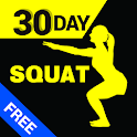 30 Day Squats Trainer Free icon