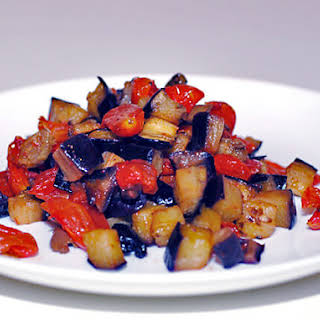 Eggplant Caponata.