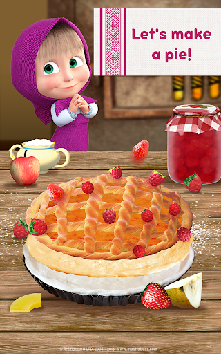 Masha and Bear: Cooking Dash  screenshots 17