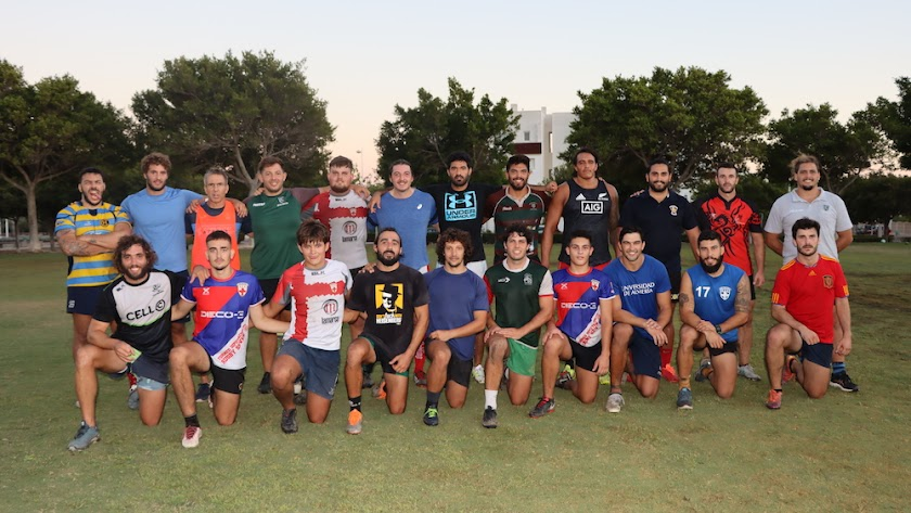 Unión Rugby Almería ya ha comenzado los entrenamientos.