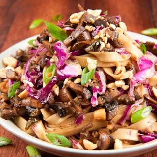 Cabbage Noodles Mushrooms Recipes