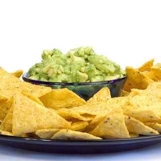 Lightened-Up Guacamole.