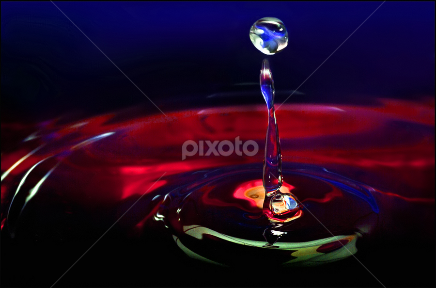 The Unexpected by Rudi Kleynhans - Abstract Water Drops & Splashes (  )