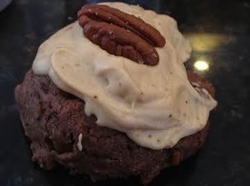 Chocolate Bourbon Pecan Cookies