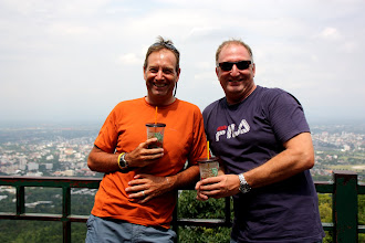 Photo: Day 336 - Rog & Mike on the Way up Doi Suthep