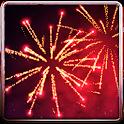 3D Fireworks Wallpaper Free icon