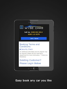 Wise Car Hire- screenshot thumbnail