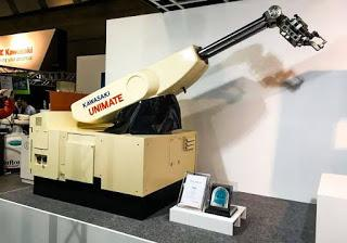 Unimate, first industrial robot.