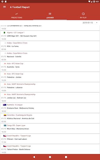 Football Tips & Stats - A Football Report 2.4 Screenshots 6