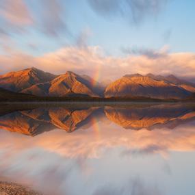 Lake Manapouri, Fiordland by Anupam Hatui - Landscapes Mountains & Hills ( manapouri, reflection, waterscape, lake, landscape, fiordland, new zealand,  )