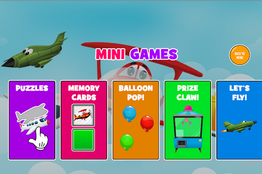 Fun Kids Planes Game 1.0.8 screenshots 11