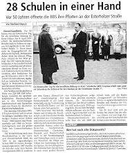 Photo: Artikel der Allgemeinen Zeitung Uelzen vom 10. April 2007