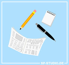 Photo: Today's www.sp-studio.de update is all about reading and writing.