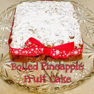 Christmas Recipe – Boiled Pineapple Fruit Cake – Gluten Free.