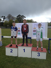 Photo: Adam O'Dwyer, Moycarkey Coolcroo A.C. winner of Boys U/11 300m at St. Laurence O'Toole Open Sports 2012