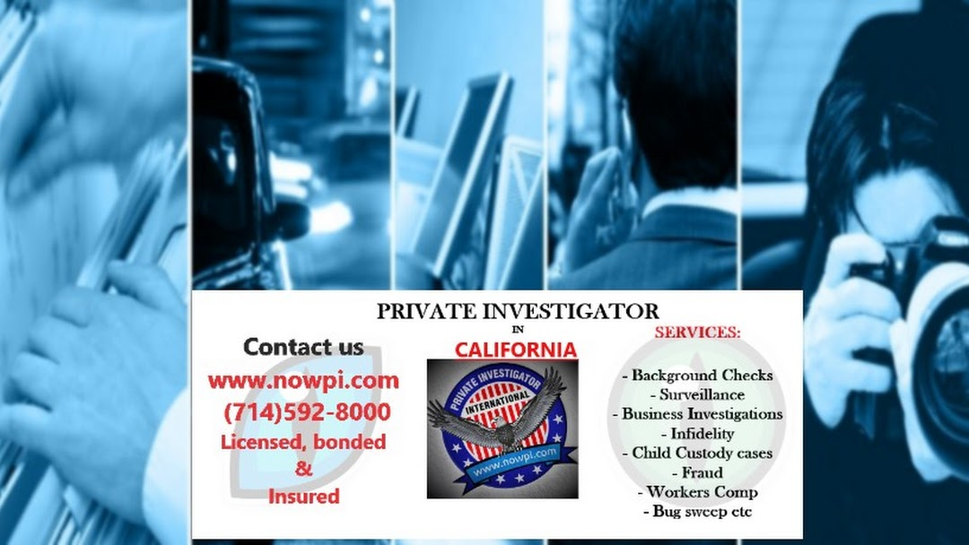 Blue Systems International - Private Investigator in Santa Ana