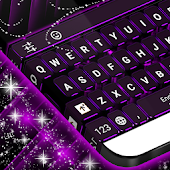 Neon Flash Keyboard