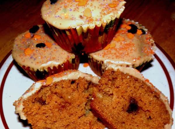 Pumpkin Apple Cake With Maple Caramel Glaze Recipe