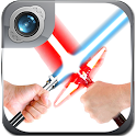Lightsaber Photo Maker Cam App icon