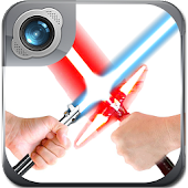 Lightsaber Photo Maker Cam App