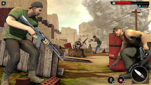 Cover Free Fire Agent:Sniper 3D Gun Shooting Games apkpoly screenshots 14