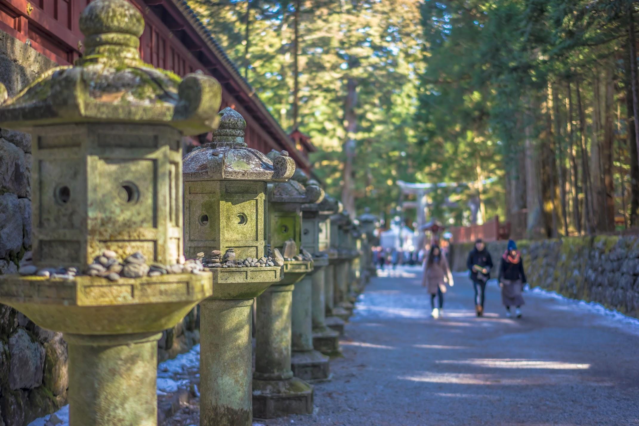 Nikko Futarasan-Jinja Shrine approach3