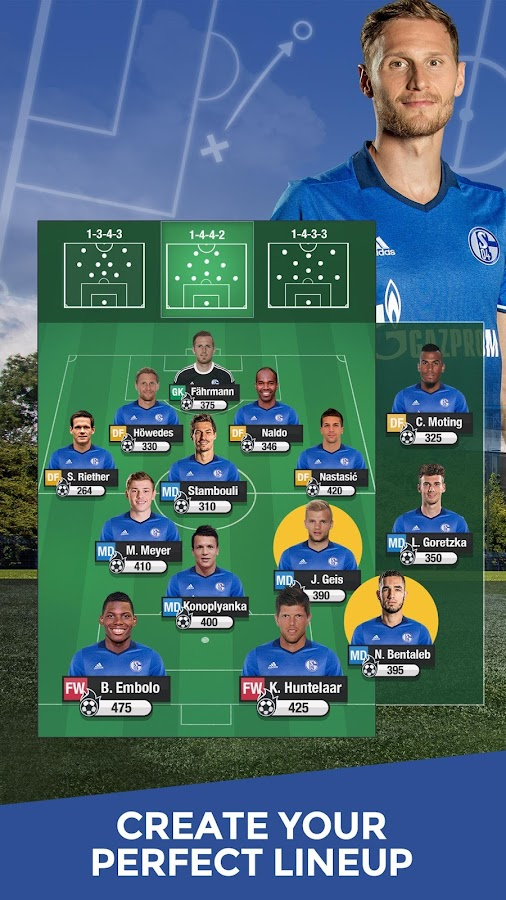 Schalke 04 Fantasy Manager '17- screenshot