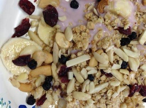 Fruit And Yogurt Breakfast Recipe