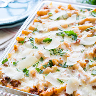 Freezer Friendly Baked Ziti