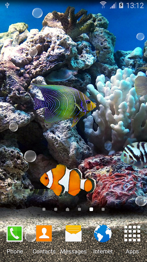 Coral Fish 3D Live Wallpaper- screenshot