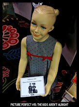 Photo: Point values for this target: 3 Points for any mannequin; 5 Points for a child mannequin; 7 points for a creepy kid mannequin. Email your submission to contests@superficialgallery.com.