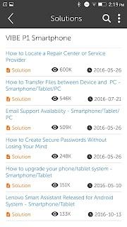 Lenovo Companion – Mobile screenshot 00