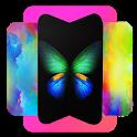 Wallpaper for Galaxy Fold icon