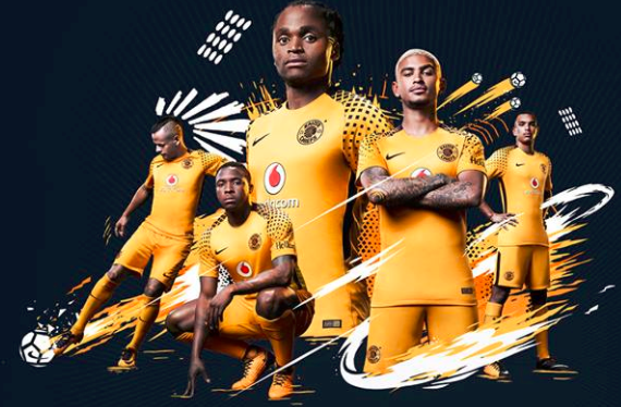 de4852e4f The new Kaizer Chiefs s home kit released by the club on Thursday 13 July  2017.