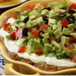 Layered Bean Dip With Refried Beans Recipes