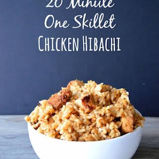 20 Minute One Skillet Chicken Hibachi.