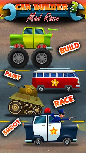 Car Builder 3 Mad Race