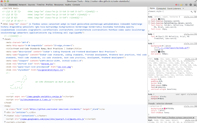 Readable DevTools Theme