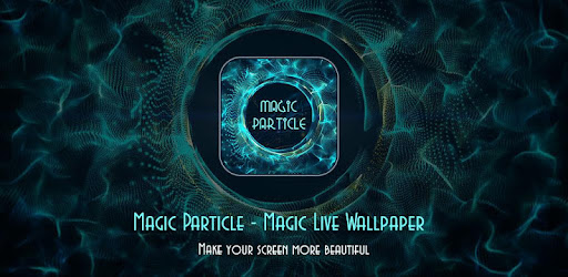 Magic Particles live Wallpaper for PC