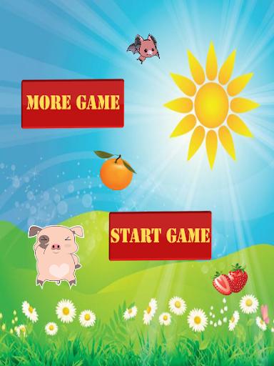 跳跃游戏猪肉
