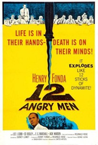 Twelve Angry Men (1957), one of the greatest lawyer movies you wold love to see.