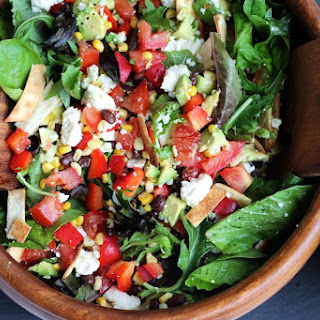 Southwestern Style Salad With Lime Cilantro Vinaigrette