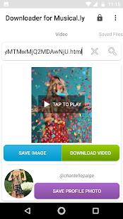 Downloader for Musical.ly - náhled