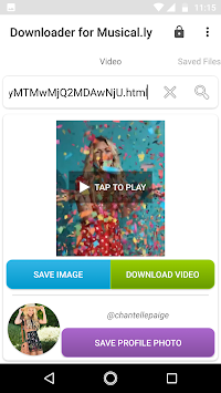 Downloader for Musical.ly
