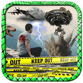 Action Movie FX Photo Stickers