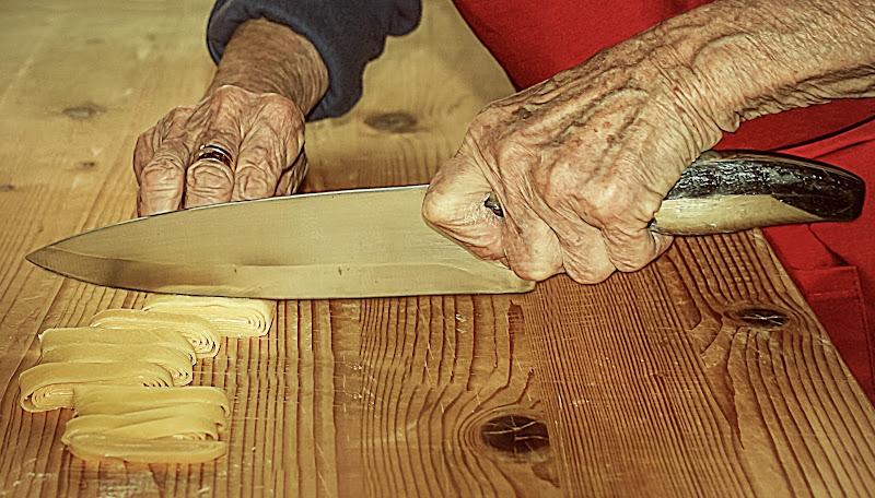 oggi tagliatelle della nonna di massimo bertozzi