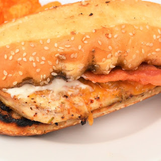 Grilled Chicken Bacon Ranch Sandwiches.
